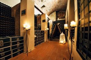 La cantina di Castello Bonomi